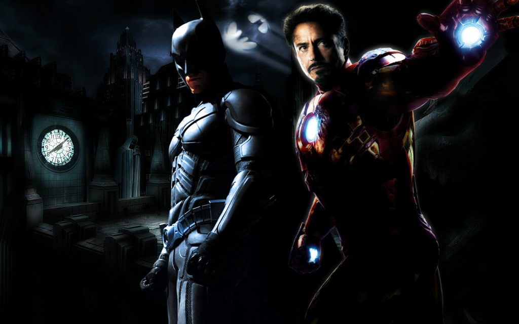 Batman et Iron Man