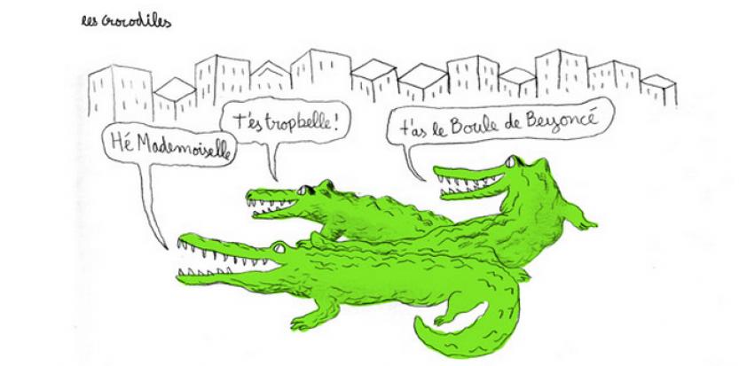 projet-crocodiles-avec-de-vrais-morceaux-de-harcelement-de-rue