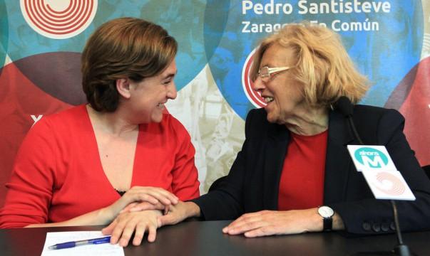 Ada-Colau-y-Manuela-Carmena-maires-podemos