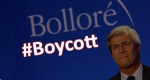 bollore-boycott