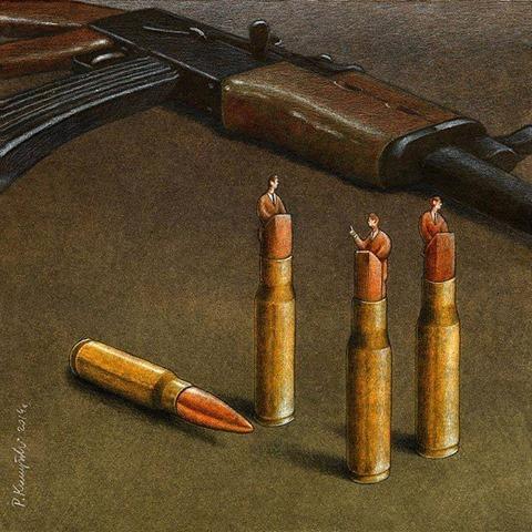 balles-mitraillette-politique