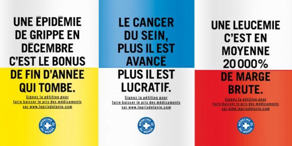 trois-affiches-campagne-pub-medecin-monde-prix-medicaments
