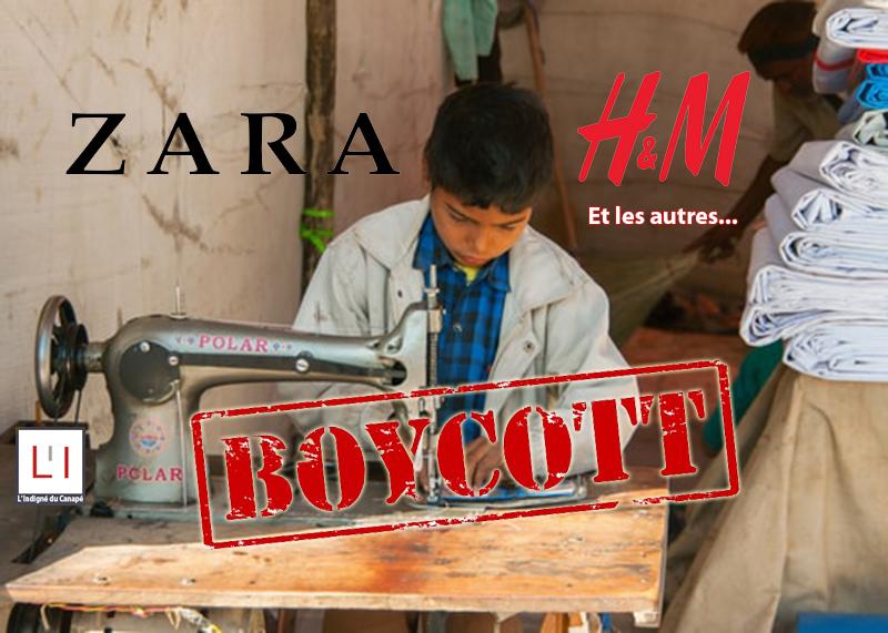 enfant-travail-marques-vetements-boycott