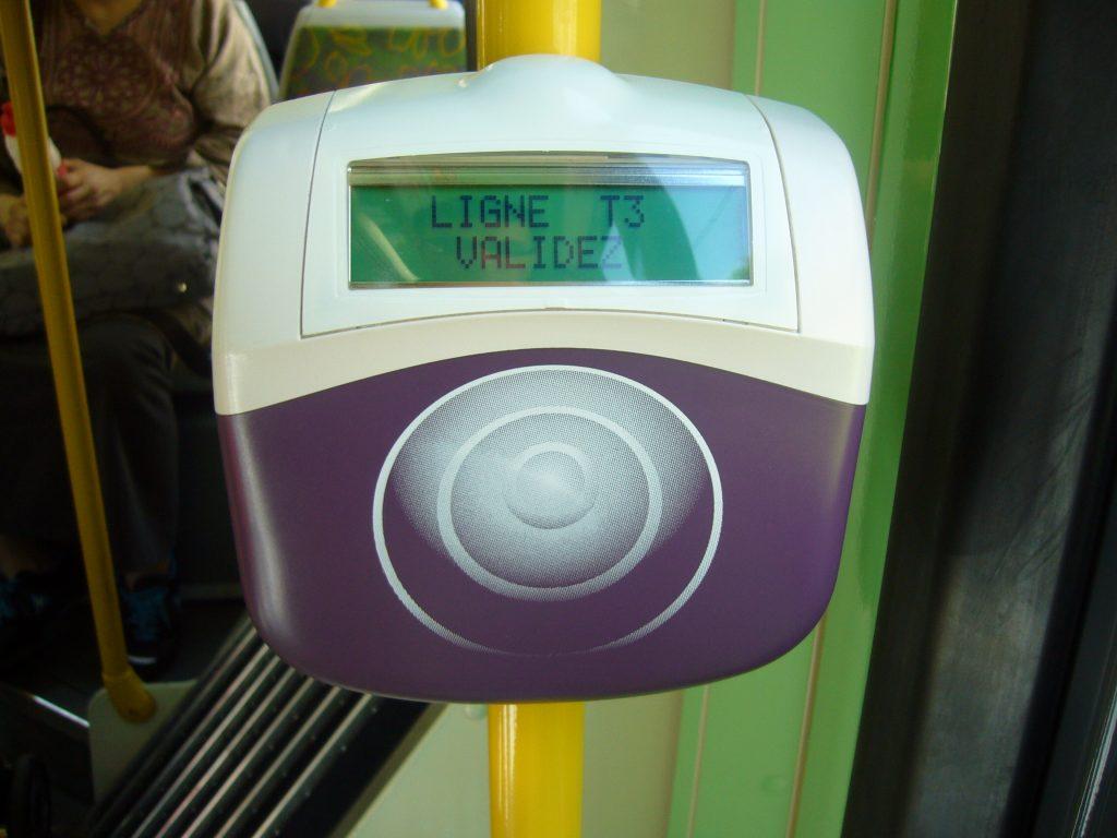 Validateur-Navigo-Bus