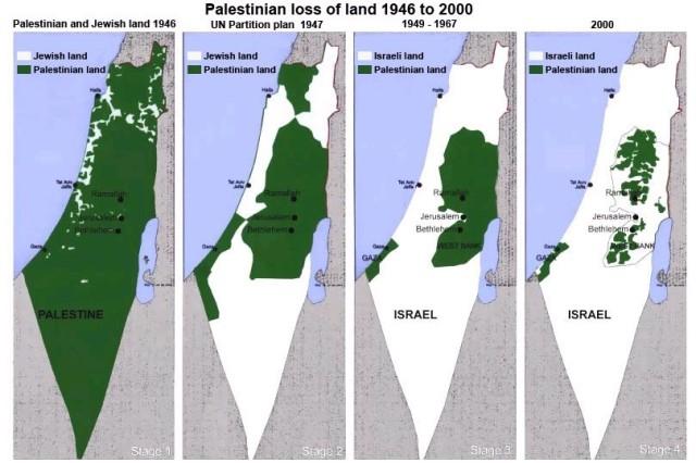 terres palestiniennes israel