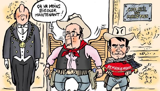 Hollande-valls-remaniement