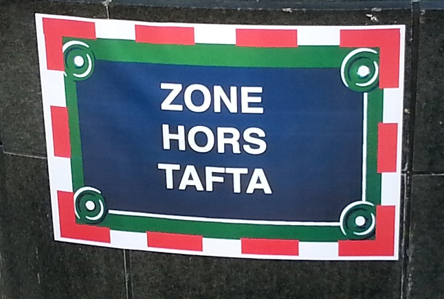 Off TAFTA area